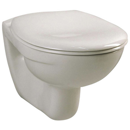 VITRA Wand WC »Norm«, Tiefspüler, pergamon, mit Spülrand