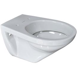 VILLEROY & BOCH Wand WC »Omnia Targa«, Tiefspüler, alpinweiß, mit Spülrand