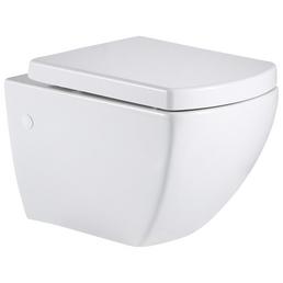 WELLWATER Wand-WC-Set (Wand-WC, WC-Sitz, Befestigungssatz)
