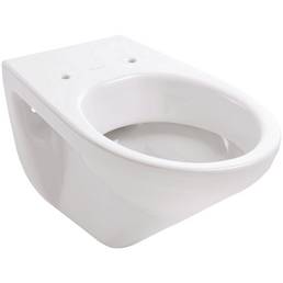 VILLEROY & BOCH Wand WC »TARGA«, Tiefspüler, weiß, mit Spülrand