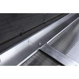 SKANHOLZ Wandanschlussprofil-set, B x H: 541 x 541 cm, Aluminium, Farbe: silberfarben