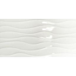 RENOVO Wandfliese »Esprit«, Feinsteinzeug, weiß, glänzend