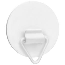 CONNEX Wandhalter, Polystyrol (EPS), Polystyrol, weiß, Ø 40 mm, 1 Stück