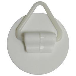 GECCO Wandhalter, Polystyrol, weiß, Ø 40 mm, 2 St.