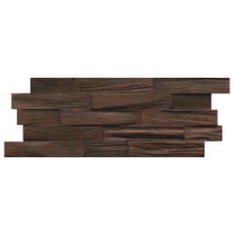 INDO Wandverblender »INDO TEAK«, braun, geölt, Holz, Stärke: 18 mm