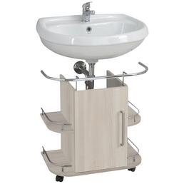 OPTIFIT Waschbeckenunterschrank »OPTIbasic 4030«, B x H x T: 60 x 39,5 x 63,3 cm links/rechts