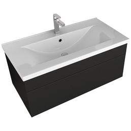 HOME DELUXE Waschplatz »Wangerooge«, schwarz, 2-teilig
