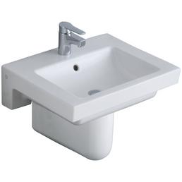 GUSTAVSBERG Waschtisch »Artic«, Breite: 60 cm, eckig