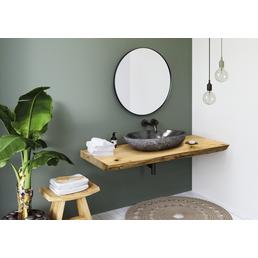 SPA AMBIENTE Waschtisch-Set »Solid 100er Platte«, B x T: 100 x 50 cm, eichefarben
