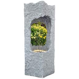 GRANIMEX Wassersäule »Corso«, Höhe: 88 cm, granitfarben, inkl. Pumpe