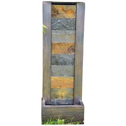 GRANIMEX Wasserwand »Dao«, steingrau, inkl. Pumpe