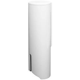 FACKELMANN Wattepadspender, Kunststoff, weiß