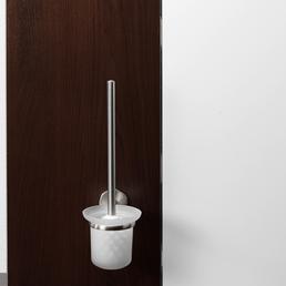 FACKELMANN WC-Bürste »Fusion«, Höhe: 38 cm, edelstahlfarben