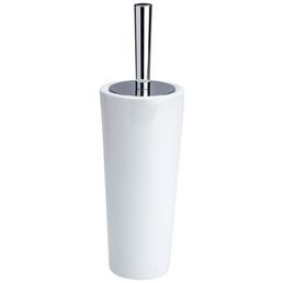 WENKO WC-Bürsten & WC-Garnituren »Coni«, Keramik, weiß/chromfarben