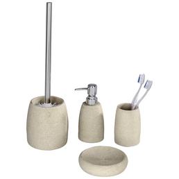 WENKO WC-Bürsten & WC-Garnituren »Goa«, Höhe: 38,5  cm, beige