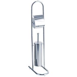 ZELLER WC-Bürsten & WC-Garnituren, Höhe: 82,5  cm, silberfarben