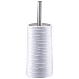ZELLER WC-Bürsten & WC-Garnituren, Keramik/Edelstahl/Kunststoff, weiß