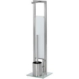 WENKO WC-Bürsten & WC-Garnituren »Rivalta«, Stahl, silberfarben