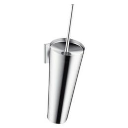 HANSGROHE WC-Bürstengarnitur »Axor Starck Organic«, Höhe: 37,4  cm, verchromt