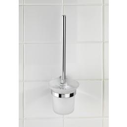 WENKO WC-Garnitur »Puerto Rico«, zinkdruckguss/glas, chromfarben