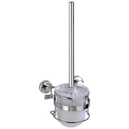 WENKO WC-Garnitur »Sion«, Stahl/Kunststoff, chromfarben