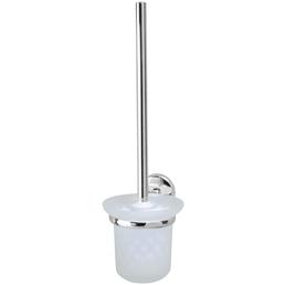 FACKELMANN WC-Garnitur »Vision«, Höhe: 38 cm, chromfarben