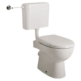 SANICOMFORT WC-Kombination »Renova Nr. 1«, inkl. WC-Sitz, Spülkasten, Montagematerial