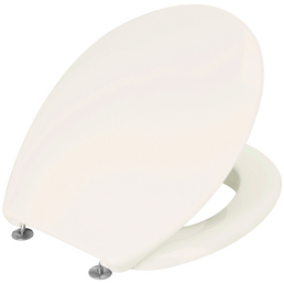 WC-Sitz aus Duroplast,  oval