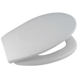 WELLWATER WC-Sitz aus Duroplast,  oval mit Softclose-Funktion