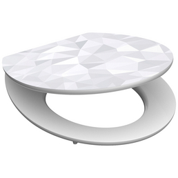 SCHÜTTE WC-Sitz »Diamond« Holzkern,  oval mit Softclose-Funktion