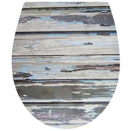 WELLWATER WC-Sitz Duroplast,  oval mit Softclose-Funktion