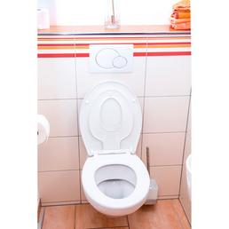 CORNAT WC-Sitz »FAMILY NEO« aus Thermoplast,  oval mit Softclose-Funktion