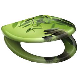 SCHÜTTE WC-Sitz »Green Garden«, Duroplast, oval, mit Softclose-Funktion