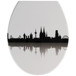 WENKO WC-Sitz »Köln« Duroplast,  oval mit Softclose-Funktion
