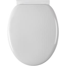 SCHÜTTE WC-Sitz, Kunststoff, oval mit Softclose-Funktion
