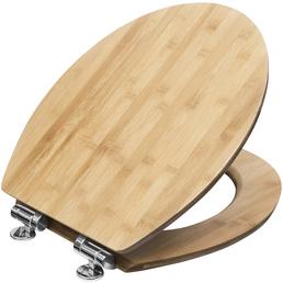 CORNAT WC-Sitz »LIGNA«, Echtholz, oval mit Softclose-Funktion