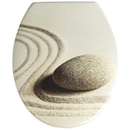 WENKO WC-Sitz »Sabbia«, Duroplast, oval, mit Softclose-Funktion