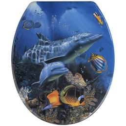 WENKO WC-Sitz »Sea Life« Duroplast,  oval