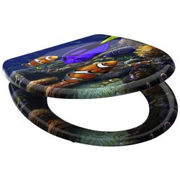 SCHÜTTE WC-Sitz »Sea Life«, Duroplast, oval, mit Softclose-Funktion