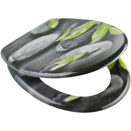 SCHÜTTE WC-Sitz »Stone« aus Duroplast,  oval mit Softclose-Funktion