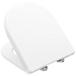 PAGETTE WC-Sitz »SUBLINE«, Duroplast, D-Form, mit Softclose-Funktion