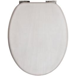 SANITOP-WINGENROTH WC-Sitz »Venezia«, Echtholz, oval mit Softclose-Funktion