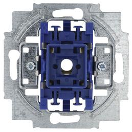 BUSCH-JAEGER Wechselschalter-Einsatz, 2000/6, Kunststoff   Metall, Silber
