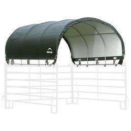 SHELTERLOGIC Weidezelt, Breite: 714 cm, Dach: Polyethylen (PE), Farbe: grün