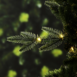 Evergreen Weihnachtsbaum »Sherwood Fichte«, Höhe: 180 cm, grün, beleuchtet