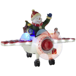 KONSTSMIDE Weihnachtsfigur, Schneemann, Höhe: 17 cm