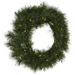CASAYA Weihnachtskranz »Sölden«, Ø 35 cm, grün, Kunststoff, beleuchtet
