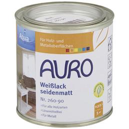 AURO Weißlack »Aqua«, seidenmatt