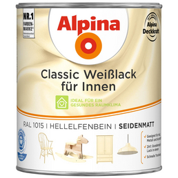 ALPINA Weißlack »Classic«, seidenmatt