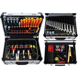 FAMEX Werkzeugkoffer »FAMEX 418-89«, Kunststoff, bestückt, 86-teilig